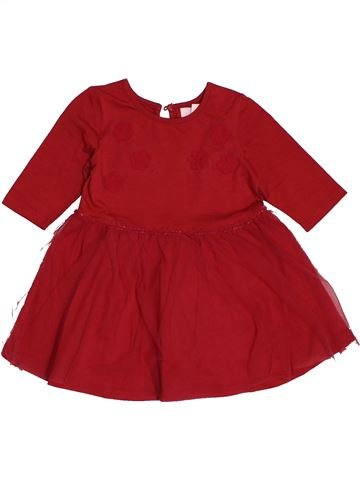 Robe fille PUMPKIN PATCH rouge 12 mois hiver #1562584_1