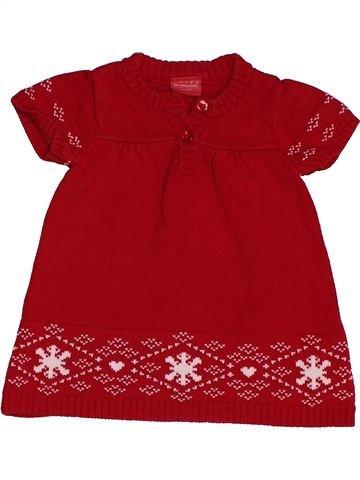 Robe fille MINI CLUB marron 6 mois hiver #1562608_1