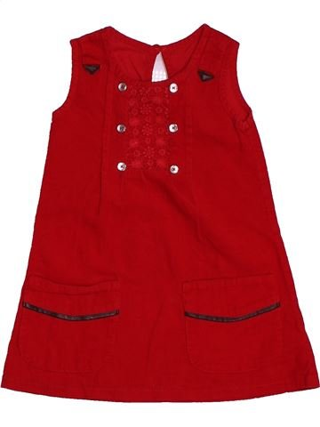 Robe fille DUNNES STORES rouge 18 mois hiver #1563007_1