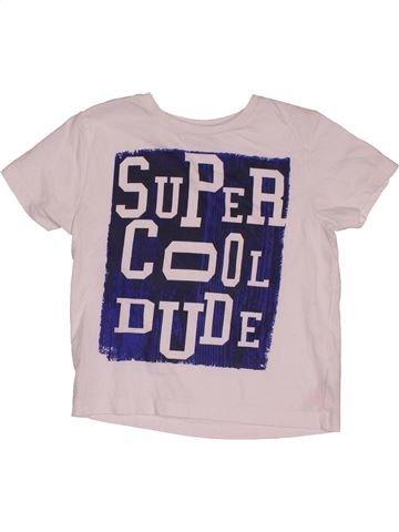 T-shirt manches courtes garçon PRIMARK rose 7 ans été #1563064_1
