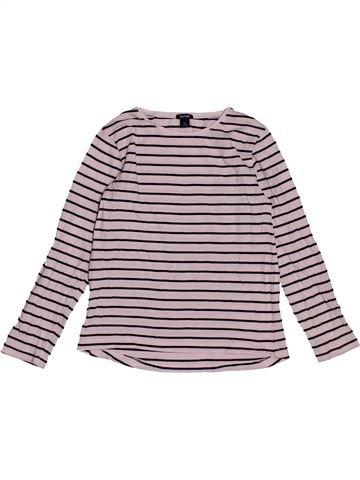 T-shirt manches longues fille KIABI gris 6 ans hiver #1563529_1