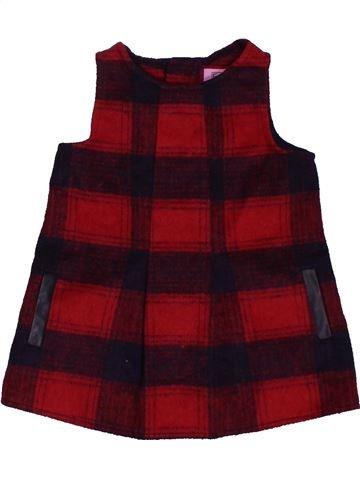 Robe fille F&F marron 9 mois hiver #1563949_1