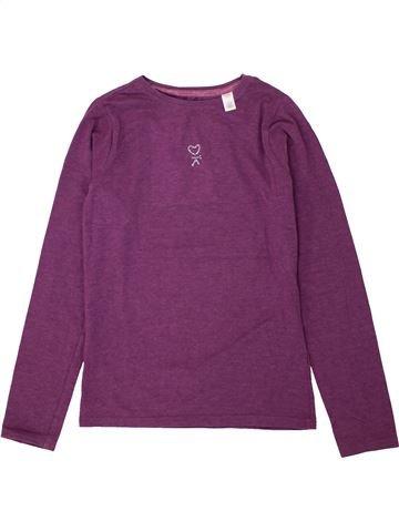 T-shirt manches longues fille OKAIDI violet 10 ans hiver  1606367 1 77f84d5b60e
