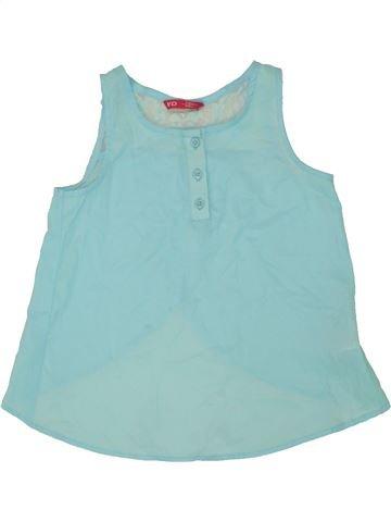 0b3818f23 Blusa de manga corta niña PRIMARK azul 8 años verano  1659842 1