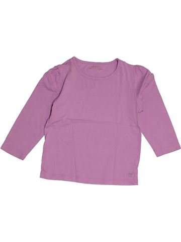 50e5f5b46ae96 T-shirt manches longues fille KIDKANAI violet 4 ans hiver  1674189 1