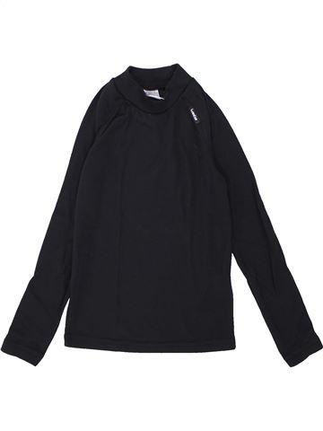 6a65dd82d Camiseta de manga larga unisexe DÉCATHLON azul oscuro 8 años invierno   1684320 1