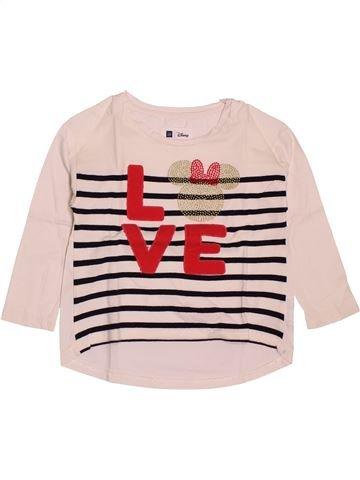 043ff84a1 Camiseta de manga larga niña GAP púrpura 4 años invierno  1693605 1