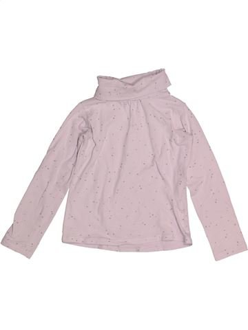 b7efd1a5cb00d T-shirt col roulé fille OKAIDI rose 3 ans hiver  1694561 1
