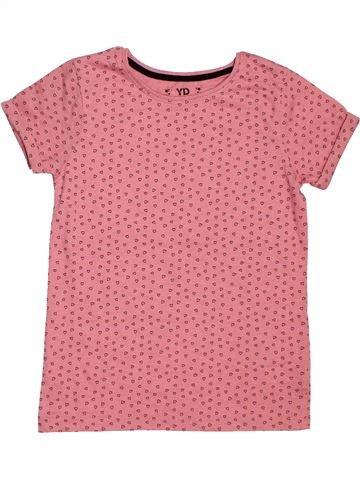 a886fc8d83de6 T-shirt manches courtes fille PRIMARK rose 10 ans été  1695523 1