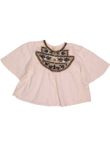7fc7736a2 Blusa de manga corta niña ZARA púrpura 5 años verano  1695580 1