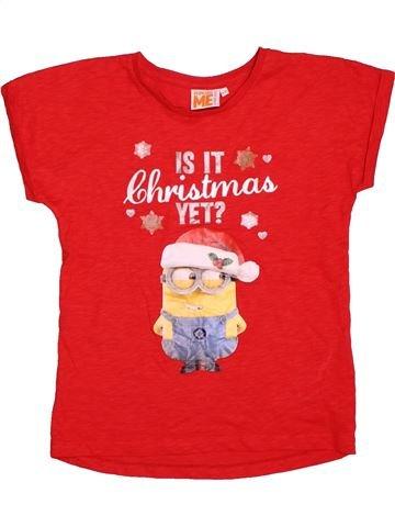 f30324b0f981a T-shirt manches courtes fille PRIMARK rouge 10 ans été  1696718 1