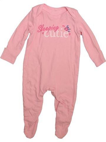 212ef4422625f Pyjama 1 pièce fille GEORGE rose 3 mois été #1753951_1