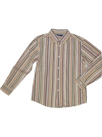 Chemise manches longues garçon OKAIDI gris 8 ans hiver #820270_1