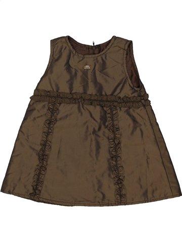 Vestido niña LILI GAUFRETTE marrón 2 años verano #825822_1