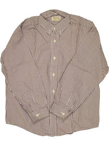 Chemise manches longues garçon NECK & NECK gris 10 ans hiver #850091_1