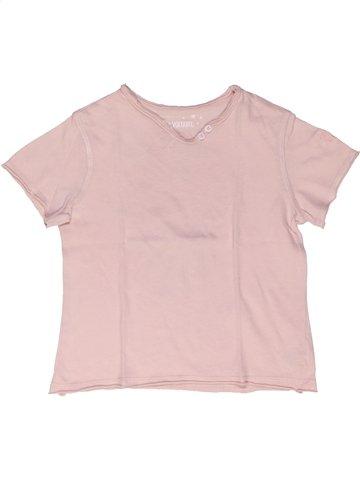 T-shirt manches courtes fille ZADIG ET VOLTAIRE violet 4 ans été #985177_1
